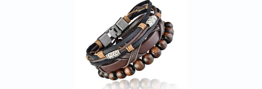 Bracelets tendances pour hommes